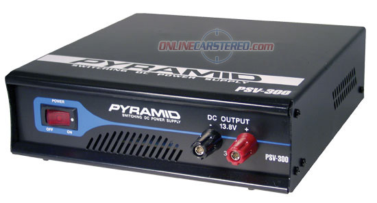 Low Ripple 30-Amp Switching DC Power Supply at Onlinecarstereo.com
