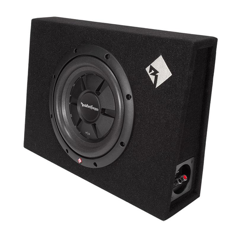 pioneer 820 watt amp. rockford fosgate r2s-1x10 pioneer 820 watt amp