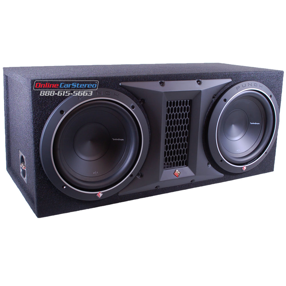 Rockford Fosgate Punch P1S4-Punch P4-ohm subwoofer