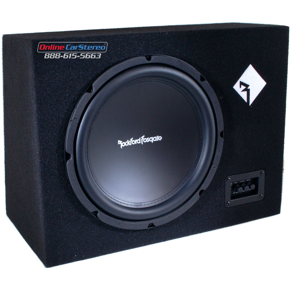 rockford fosgate r300 10 amplified enclosure loaded with. Black Bedroom Furniture Sets. Home Design Ideas