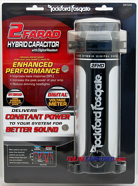 Hook up rockford fosgate capacitor
