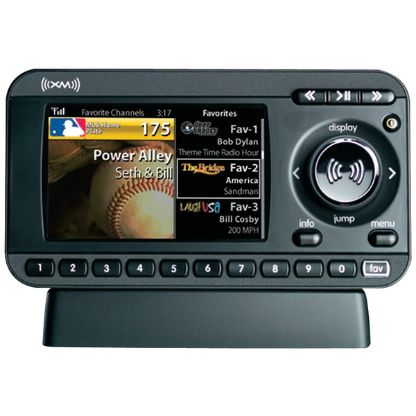 Car stereo xm built in