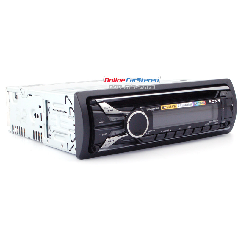 Sony CDX-GT565UP Single-DIN In-Dash CD Stereo MP3, WMA