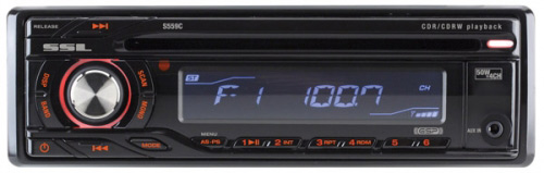 Buy SoundStorm In-dash CD Players - SoundStorm - S559C - In-Dash CD Receiver With Front Panel Aux Input