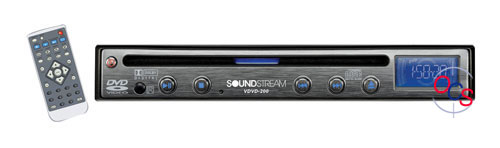 Buy Soundstream In-dash CD Players - Soundstream - VDVD-200 - Half Din In-Dash DVD/MP3/CD Player