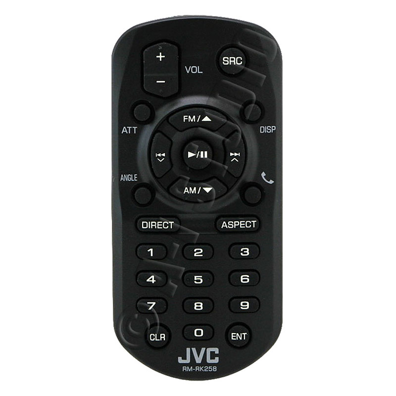 how to turn on jvc tv without remote