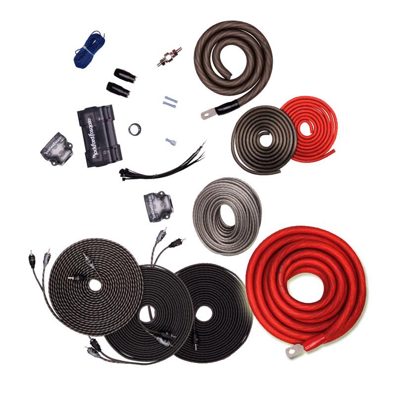 Db Link Pk4z 4 Gauge Power Series Amp Installation Kit: Rockford Fosgate RFK1 Power And Ground Amplifier