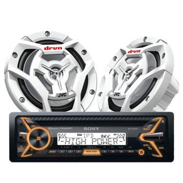 Sony MEX-M100BT-CS-DR6201MW-PKG
