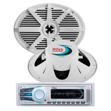 Boss Audio MR1306UA-MR692W-PKG