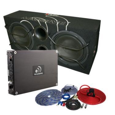 sub amp wiring kit massive audio amp wiring kit massive audio vbd12ii package 12