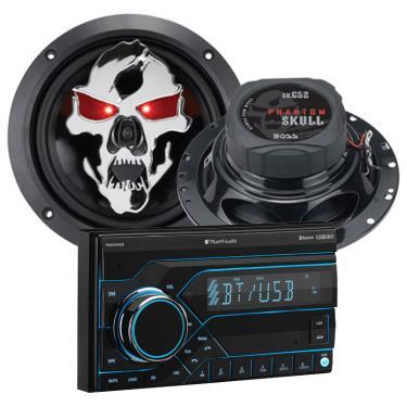 Planet Audio PB455RGB-SK653-PKG