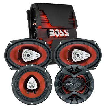 Boss Audio PT1000-CH6930-CH6500-PKG