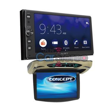 Sony XAV-AX100-PKG3
