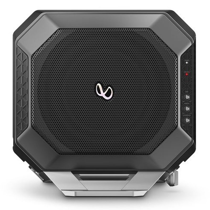 """Infinity BASSLINK DC 10"""" 200W RMS Amplified Subwoofer Bass"""
