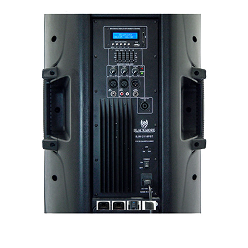 Blackmore Bjw 2116pbt Professional Pa Audio System With