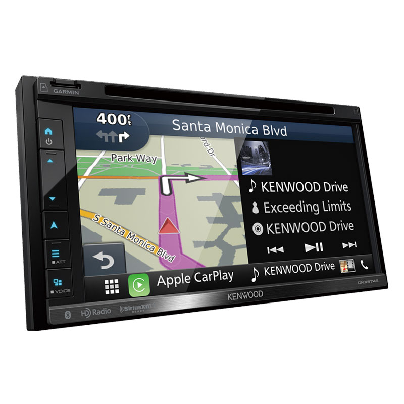 kenwood dnx574s double din navigation in dash dvd cd am fm. Black Bedroom Furniture Sets. Home Design Ideas