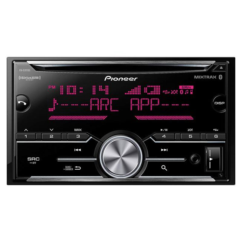 Pioneer Fh S701bs Double Din Cd Receiver With Enhanced