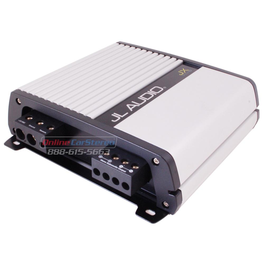 Jl Audio Jx500 1d 99400 Mono Subwoofer Car Amplifier 500