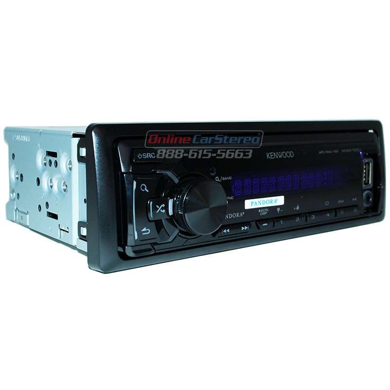 Kenwood Kmm 204 Single Din Media Receiver Front Usb Aux: Please Roll Over The Image To Zoom In. Click On The Image