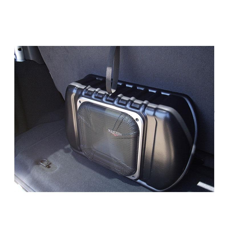 Kicker SWRA411 4-Channel Amplifier & Powered Subwoofer