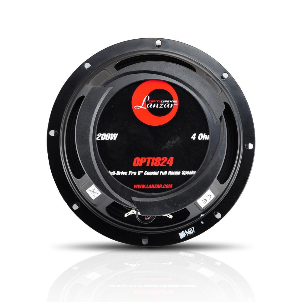 Lanzar OPTI824 1200W Opti-Drive Pro 8'' Coaxial Full Range