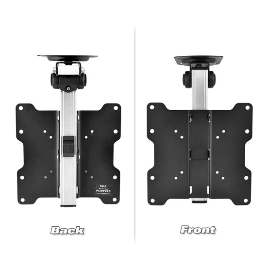 Pyle PCMTV25 Universal Folding Hide-Away TV Ceiling Mount