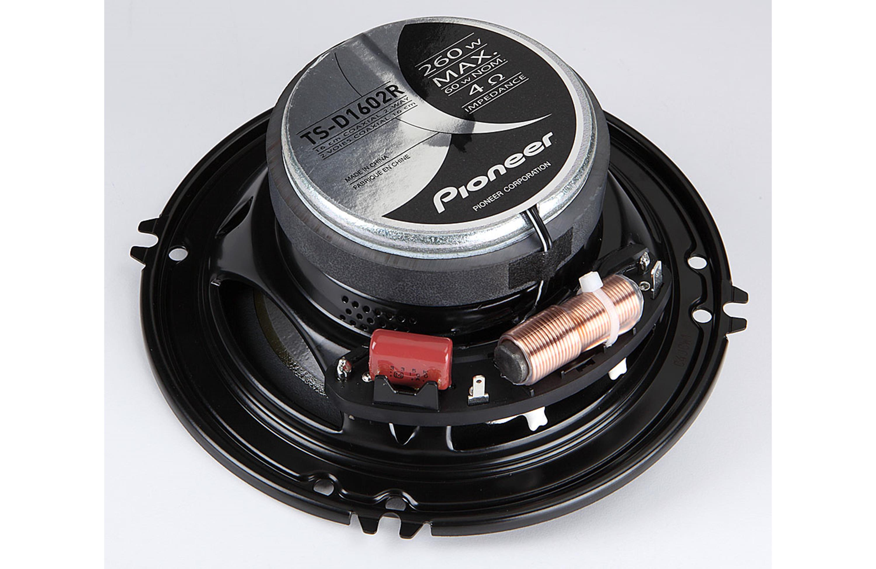 Pioneer Ts D1602r 6 1 2 Quot 260w 2 Way Car Speakers At