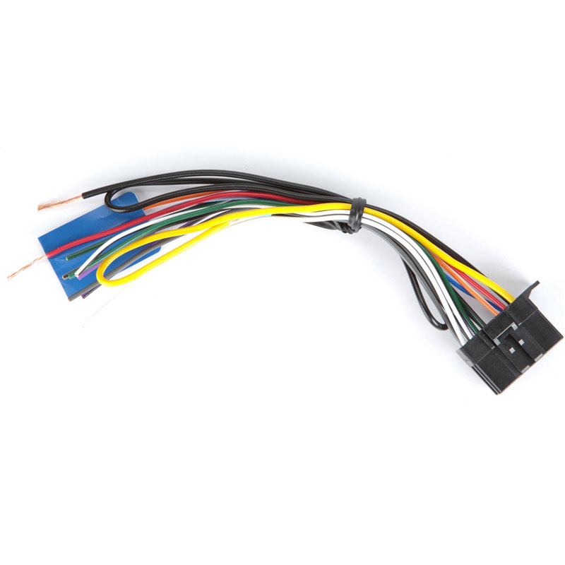 pioneer fh-x731bt 2-din cd receiver with enhanced audio ... pioneer deh m8057 car stereo wiring harness