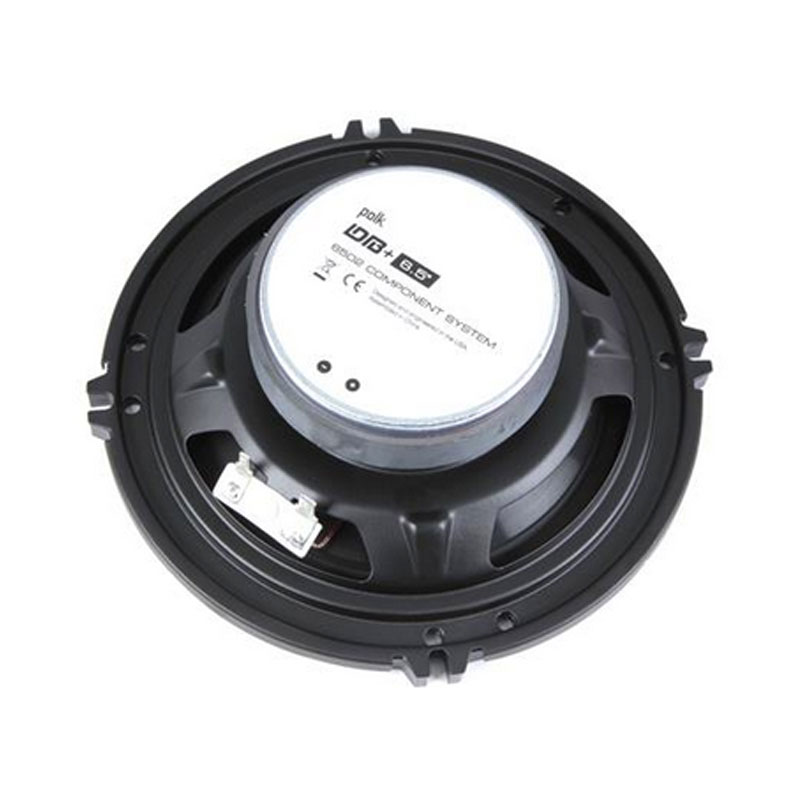 "Polk Car Audio Speakers Polk Audio DB6502 6.5"" 2-Way DB Series Car Audio Component System with ..."