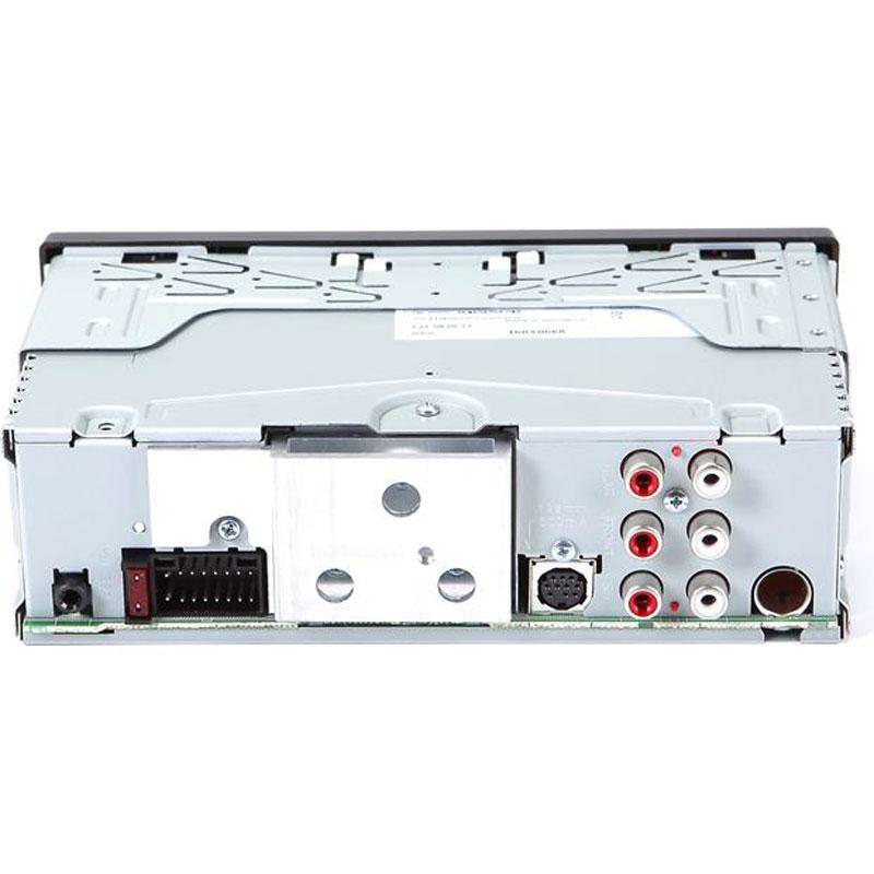 JVC KD-X33MBS Single DIN Marine Grade Bluetooth In-Dash