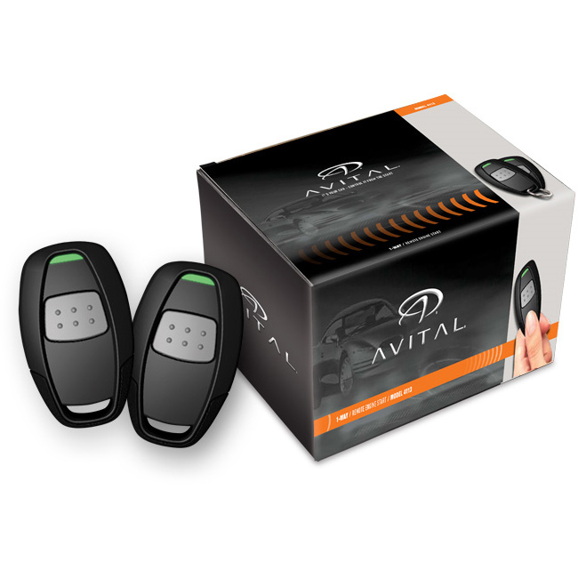 avital 4113lx 1 way remote start system with two 1 button. Black Bedroom Furniture Sets. Home Design Ideas