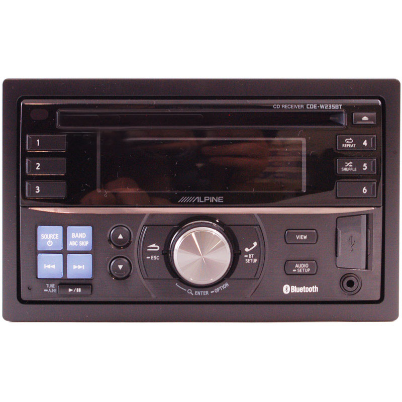 Alpine Cde W Bt on Alpine Car Stereo With Bluetooth