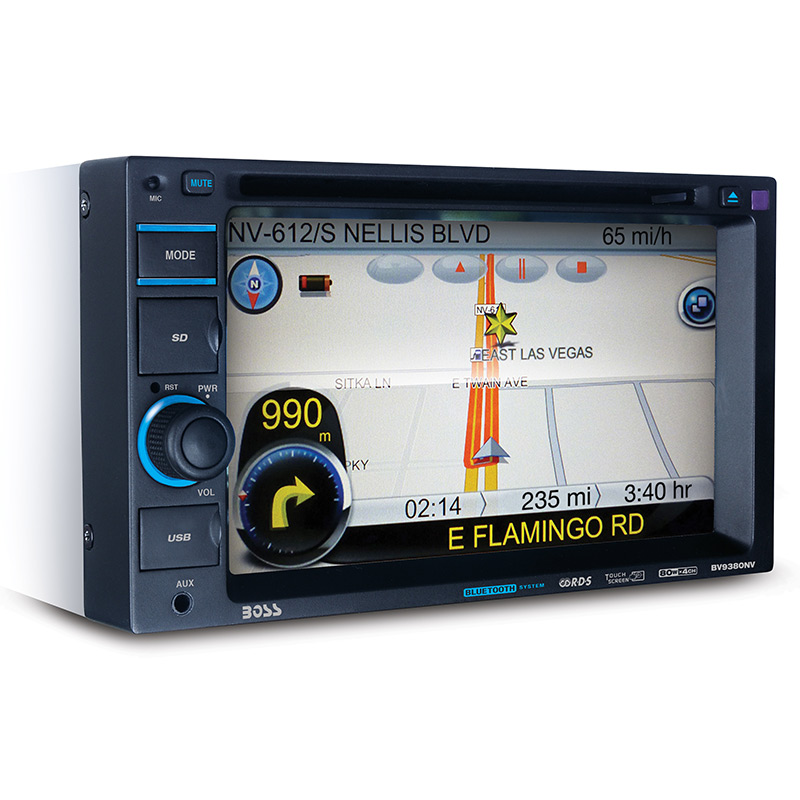 Boss Bv9538b Double Din Bluetooth Dvd Car Stereo Receiver: Boss Audio BV9386NV Bluetooth Enabled Double-DIN In-Dash