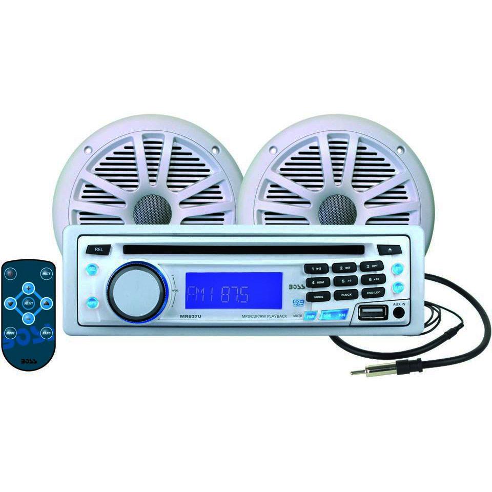 toyota speakers wiring diagram boss audio mck637w.64 single-din in-dash marine receiver ...