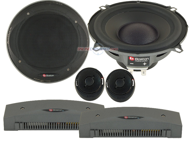 Boston acoustics component car speakers