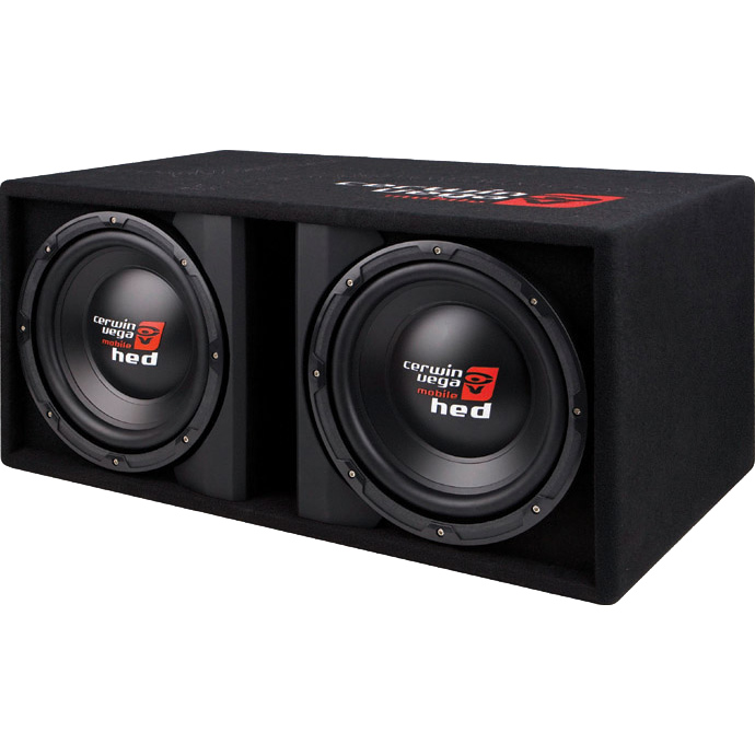 Cerwin vega subwoofer car