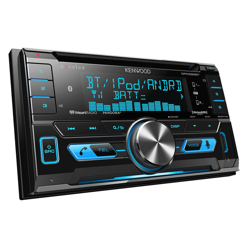 Kenwood Excelon DPX592BT 200 Watts Max Power Double-DIN In