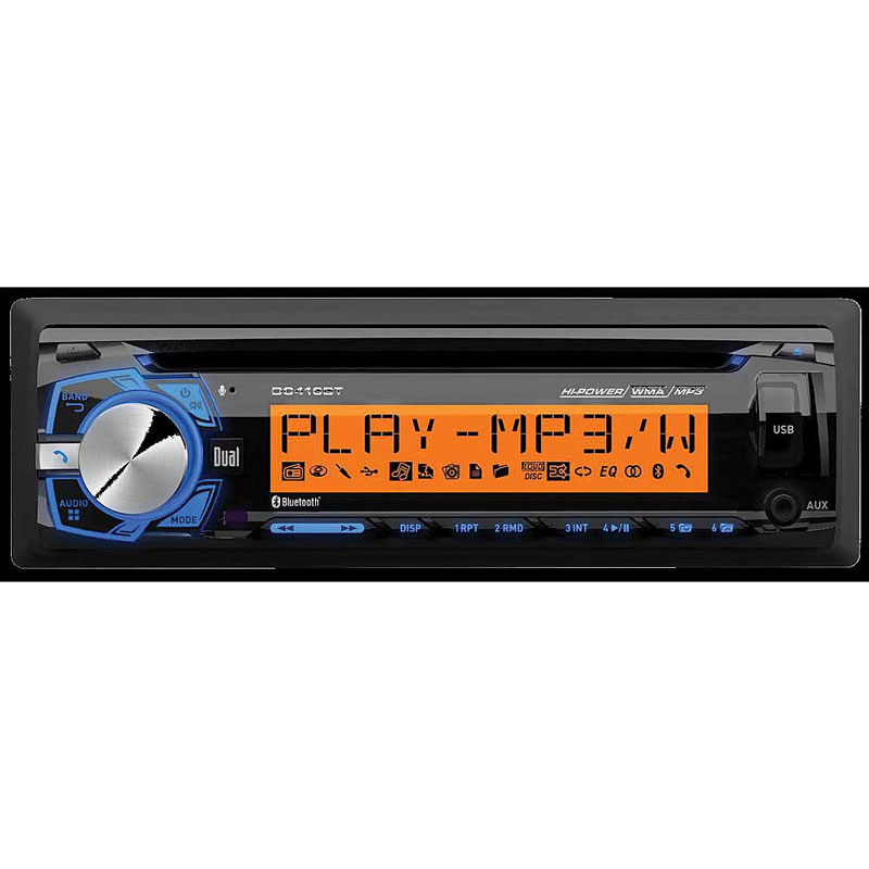 dual dc416bt cd receiver with built in bluetooth and rgb. Black Bedroom Furniture Sets. Home Design Ideas