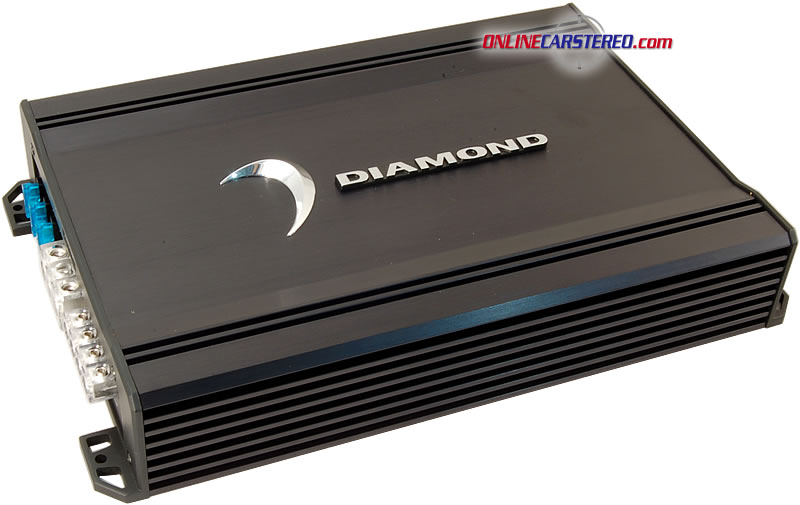 Diamond Audio D30 4-channel car amplifier watts RMS x at
