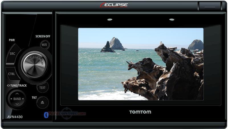 "Eclipse Car Stereo: Eclipse AVN4430 4.3"" Touchscreen DVD Navigation System"