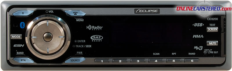 Eclipse CD3200 CD/MP/USB Multi-Source Receiver With Built