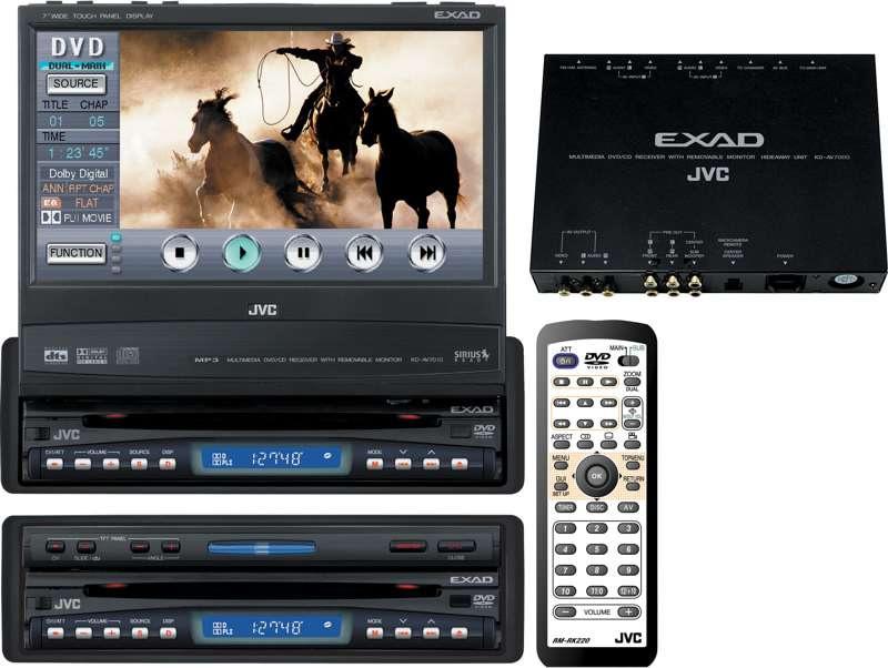 dvd-центр jvc kd-av7001