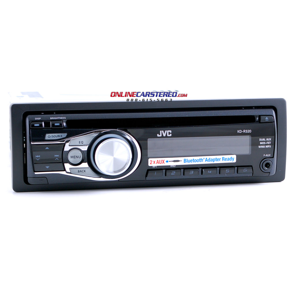jvc kd r320 in dash cd mp3 player with dual front and. Black Bedroom Furniture Sets. Home Design Ideas