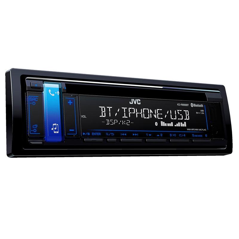 Single DIN Bluetooth In-Dash CD/AM/FM