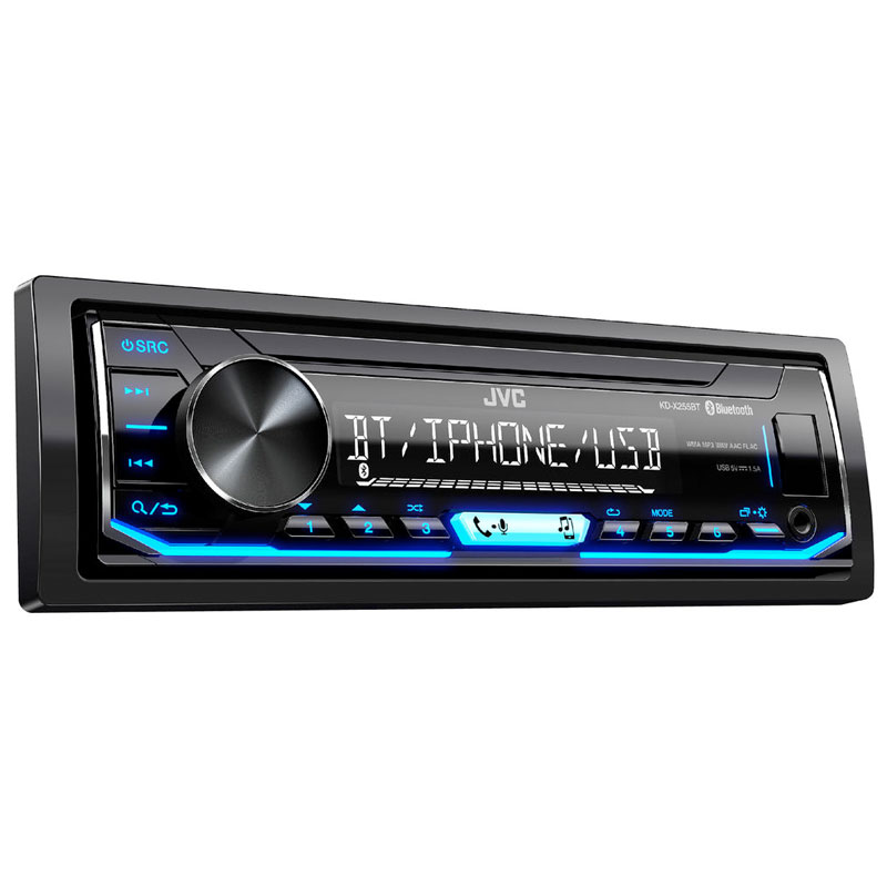 Single DIN Mechless Digital Car Stereo