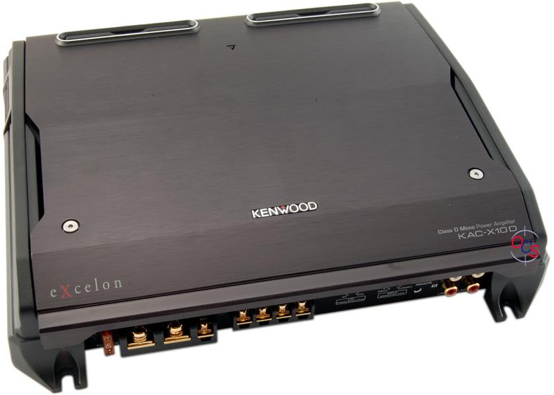 Kenwood Excelon Kac X D on Kenwood Excelon Mono Amp