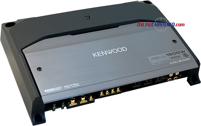 Kenwood KAC-9104D Product Ratings And Reviews at OnlineCarStereo.com