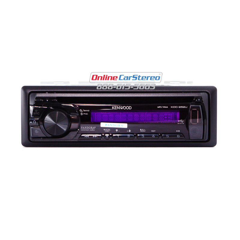 Astonishing Kenwood Kdc 252U Psingle Din In Dash Cd Mp3 Wma Stereo Receiver Wiring 101 Vieworaxxcnl