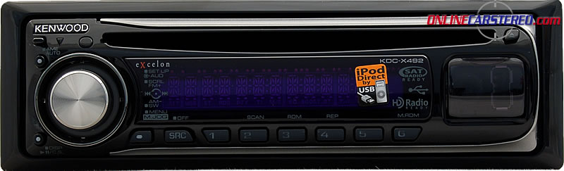 Kenwood Excelon Kdc Mp3 Receiver With Front Usb And Auxiliary Inputs At Onlinecarstereo Com