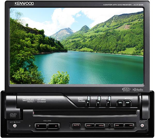 Kenwood KVT-516 - In-Dash 1-DIN CD/DVD/MP3/Multimedia ... on kenwood kvt-514, kenwood kiv-bt901, kenwood dvd car stereo, kenwood kvt 614, kenwood kch-4,